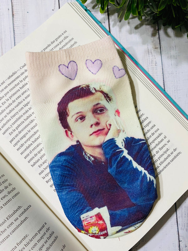 Socks Tom Holland Heart