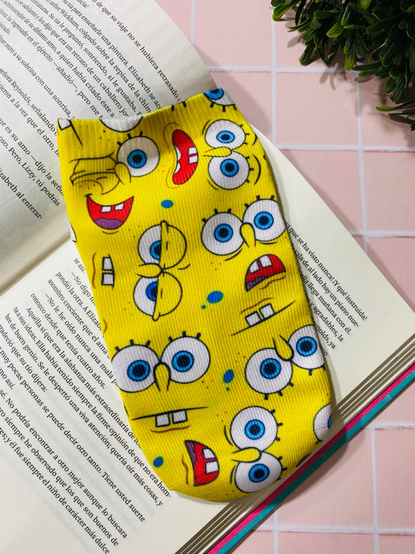Socks Bob Esponja Caras - Space Store Chile