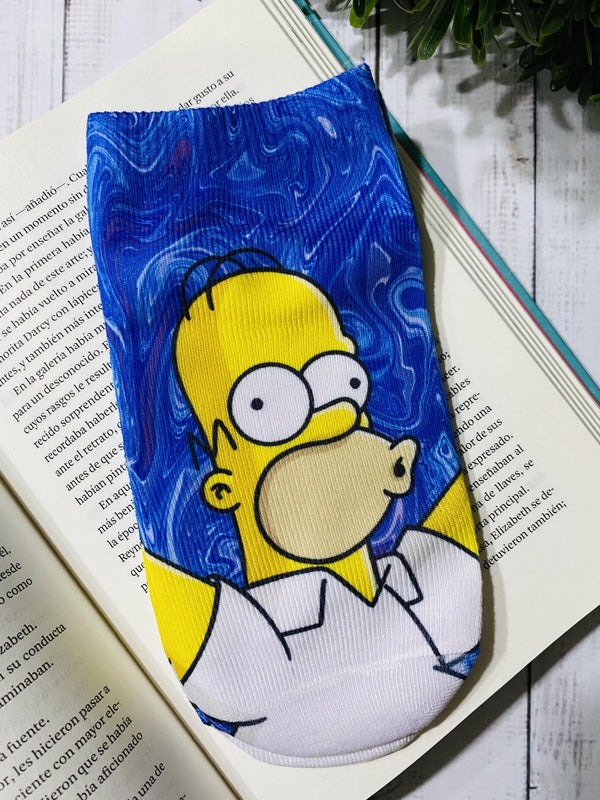 Socks Homero Holografico - Space Store Chile