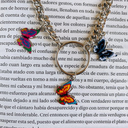 Collar Triple Mariposa