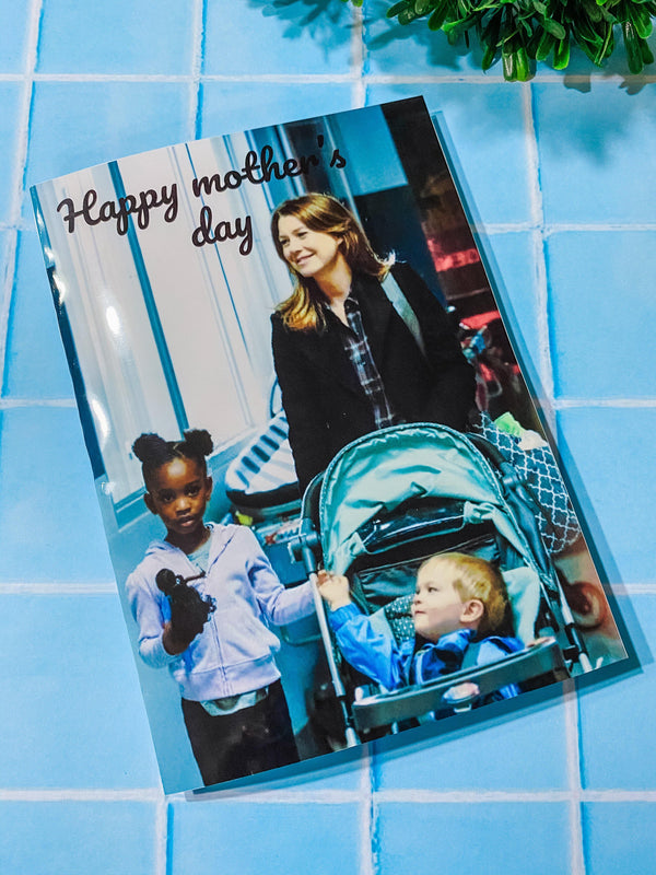 Tarjeta Happy Mother´s Day Meredith Grey