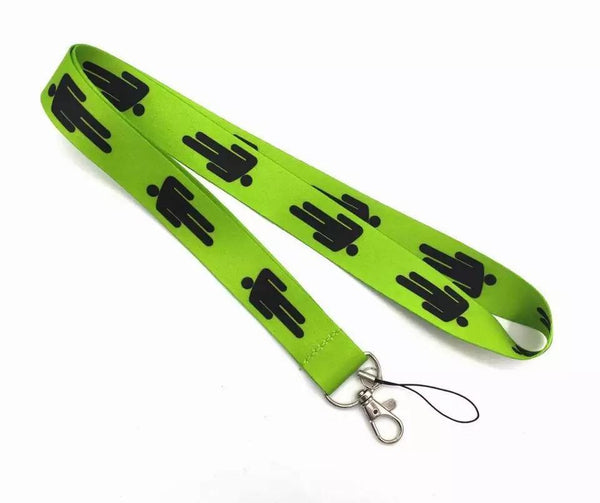 Lanyard Billie Eilish Verde Neon