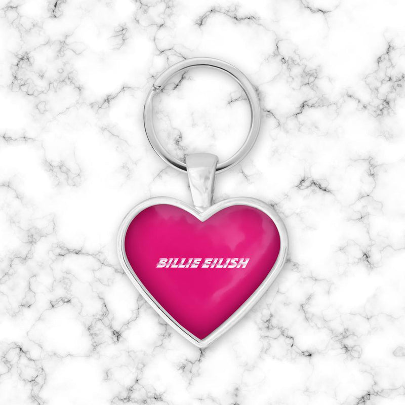 Llavero Corazon Billie Eillish Neon - Space Store Chile