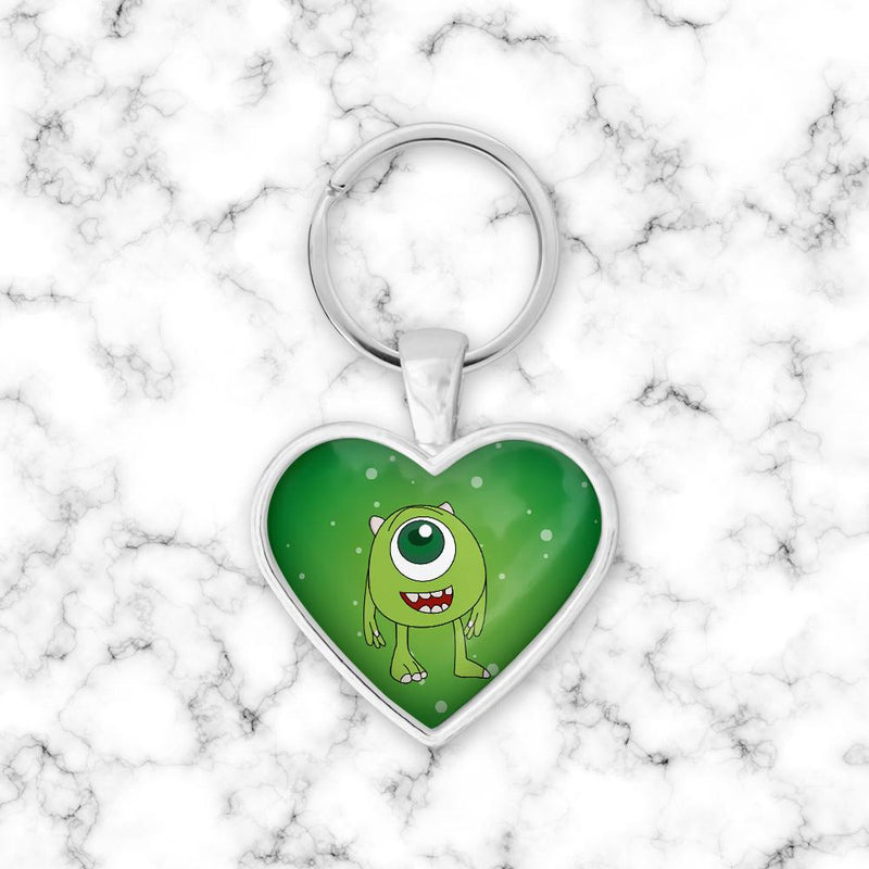 Llavero Corazon Mike Wazowski Baby - Space Store Chile