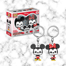 Funko Llavero 2PK Mickey and Minnie - Space Store Chile