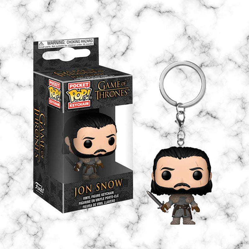 Funko Llavero Jon Snow (Beyond the Wall) - Space Store Chile