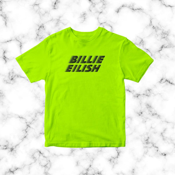 Polera Billie Eilish Neon model 1