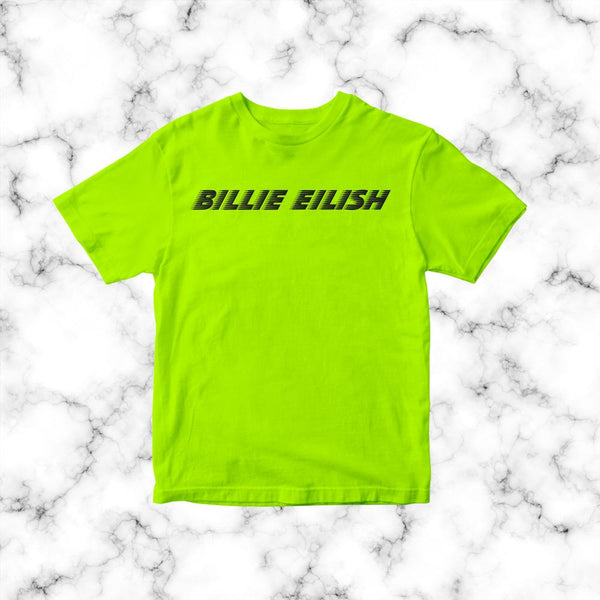 Polera Billie Eilish Neon model 2