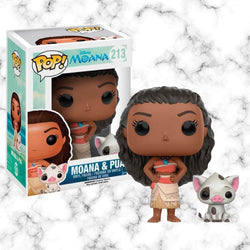 Funko Pop Moana and Pua - Space Store Chile
