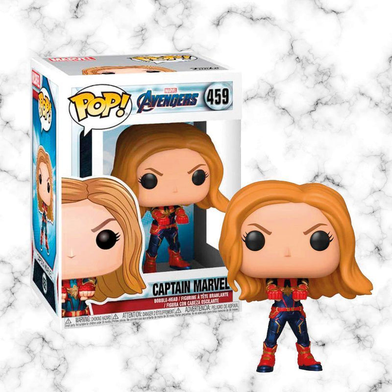 Funko Pop Capitana Marvel Avengers - Space Store Chile