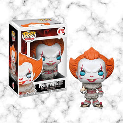 Funko Pop Pennywise w/ Boat - Space Store Chile