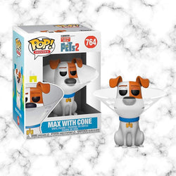 Funko Pop SECRET LIFE OF PETS 2 : MAX IN CONE - Space Store Chile