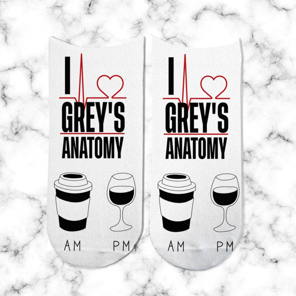 Socks Greys Anatomy Am-Pm - Space Store Chile