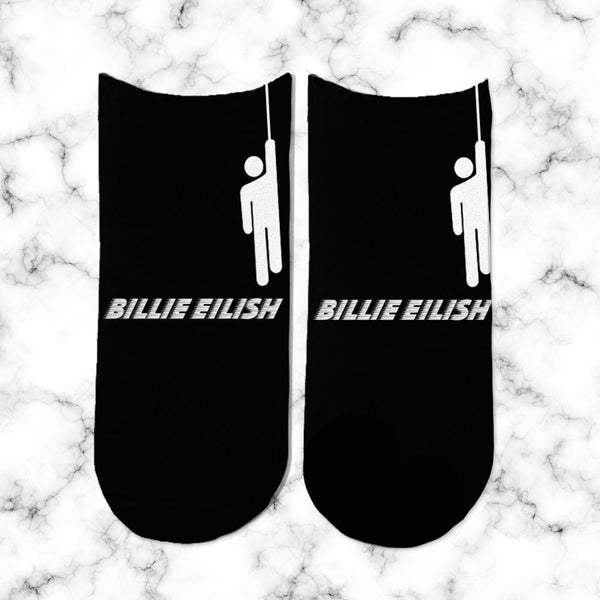 Socks Billie Eilish Negro - Space Store Chile