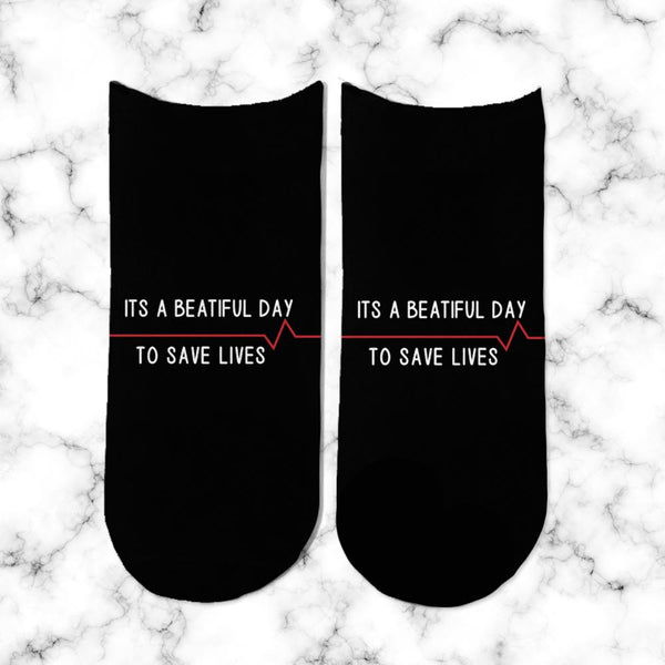Socks Its Beautiful Day - Space Store Chile