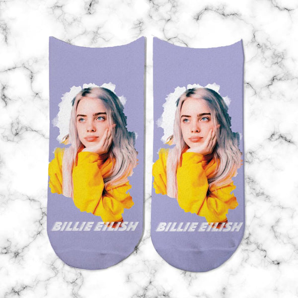 Socks Billie Eilish Cara - Space Store Chile