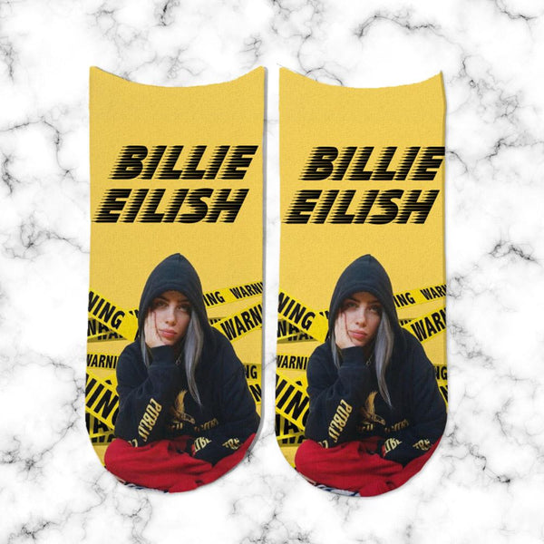 Socks Billie Eilish Yellow - Space Store Chile