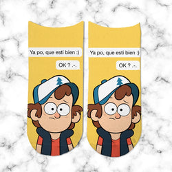 Socks Chat Gravity Falls - Space Store Chile