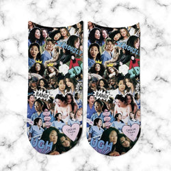 Socks Greys Anatomy Collage