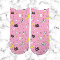 Socks Sailor Moon Pink - Space Store Chile