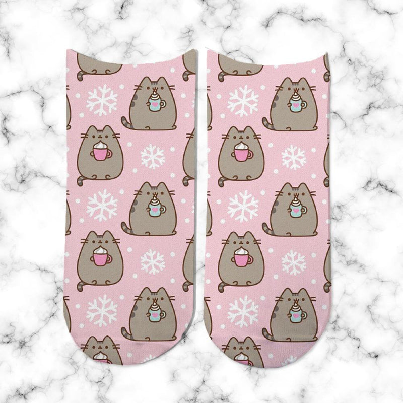 Socks Pusheen Nieve - Space Store Chile