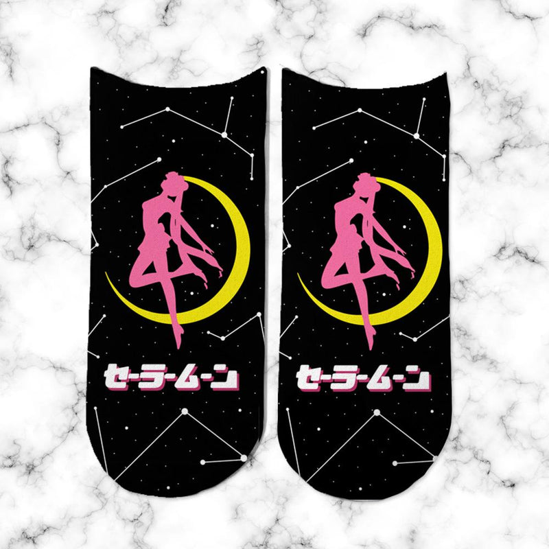 Socks Sailor Moon Black - Space Store Chile