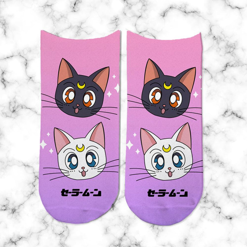 Socks Luna y Artemis Degrade - Space Store Chile
