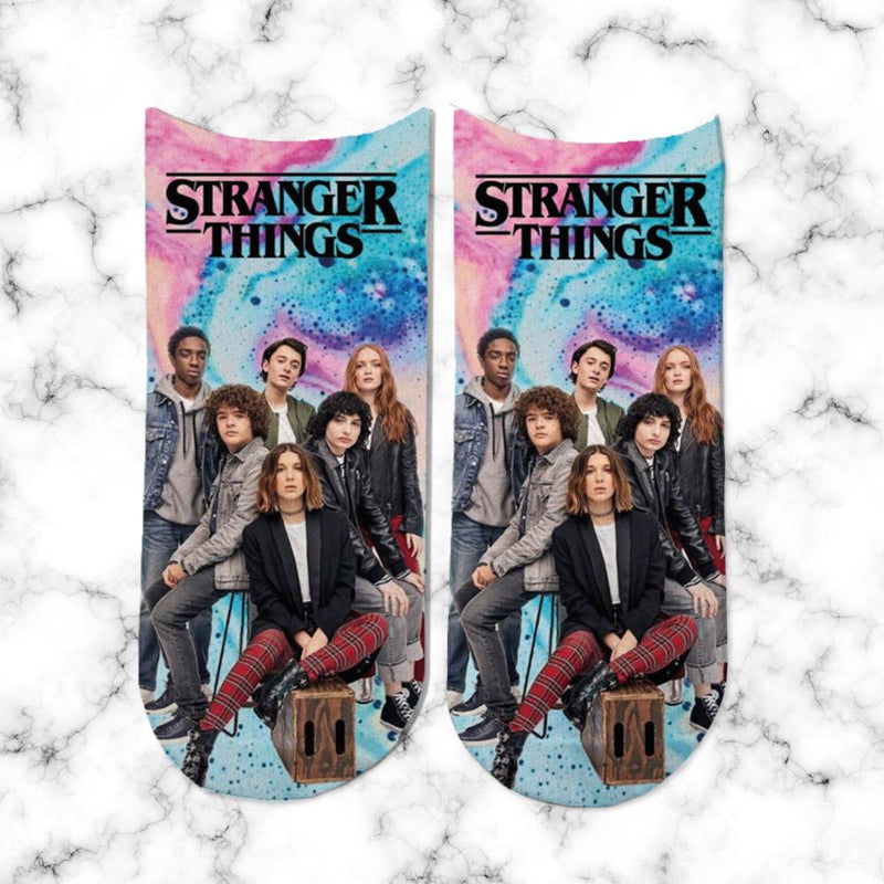 Socks Stranger Things Squad - Space Store Chile