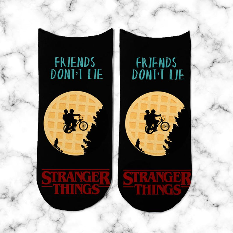Socks Stranger Things Waffles - Space Store Chile