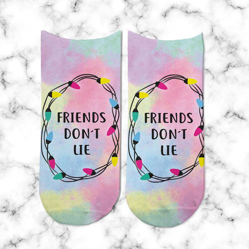 Socks Friends dont Lie - Space Store Chile