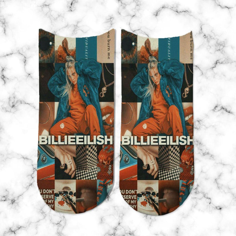 Socks Billie Eilish Model 1