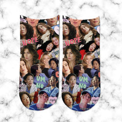 Socks Meredith and Cristina Cartoon - Space Store Chile