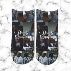 Socks Greys Anatomy Collage 2 - Space Store Chile