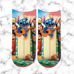 Socks Lilo & Stitch Tabla de Surf - Space Store Chile
