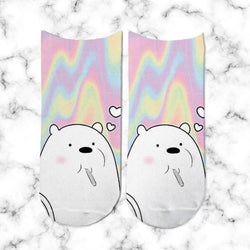 Socks Polar Eating Rainbow - Space Store Chile