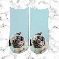 Socks Pug Laugh - Space Store Chile
