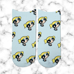 Socks Burbuja Light Blue - Space Store Chile