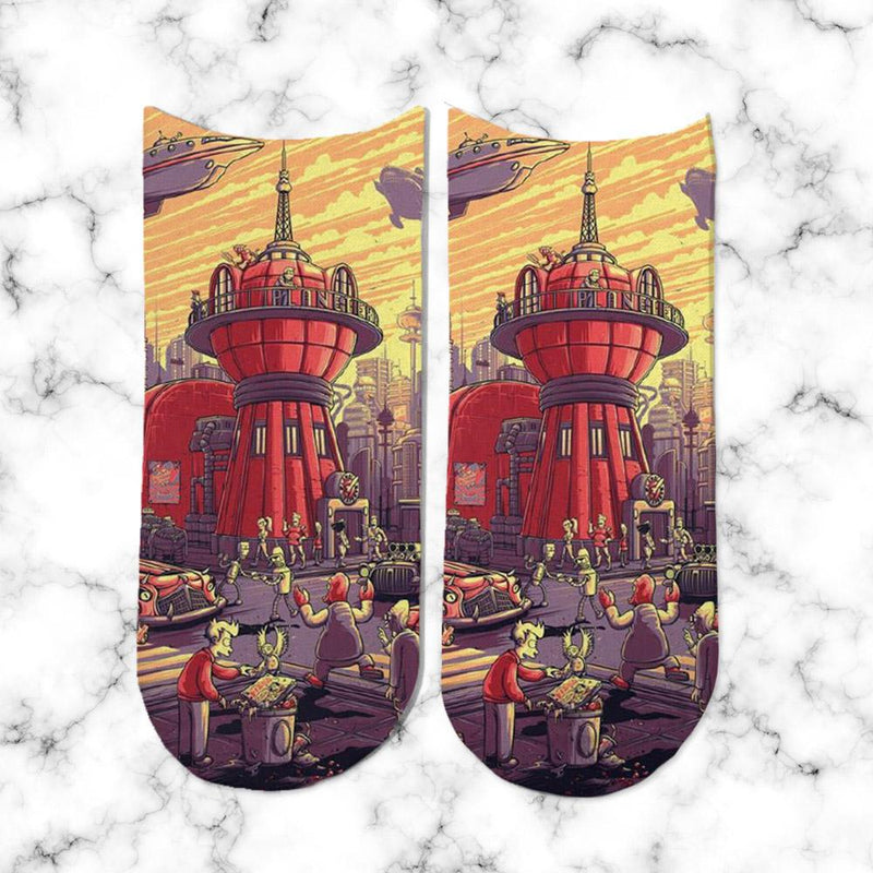 Socks Futurama Apocalipse - Space Store Chile