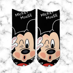 Socks Mickey Mouse Black - Space Store Chile