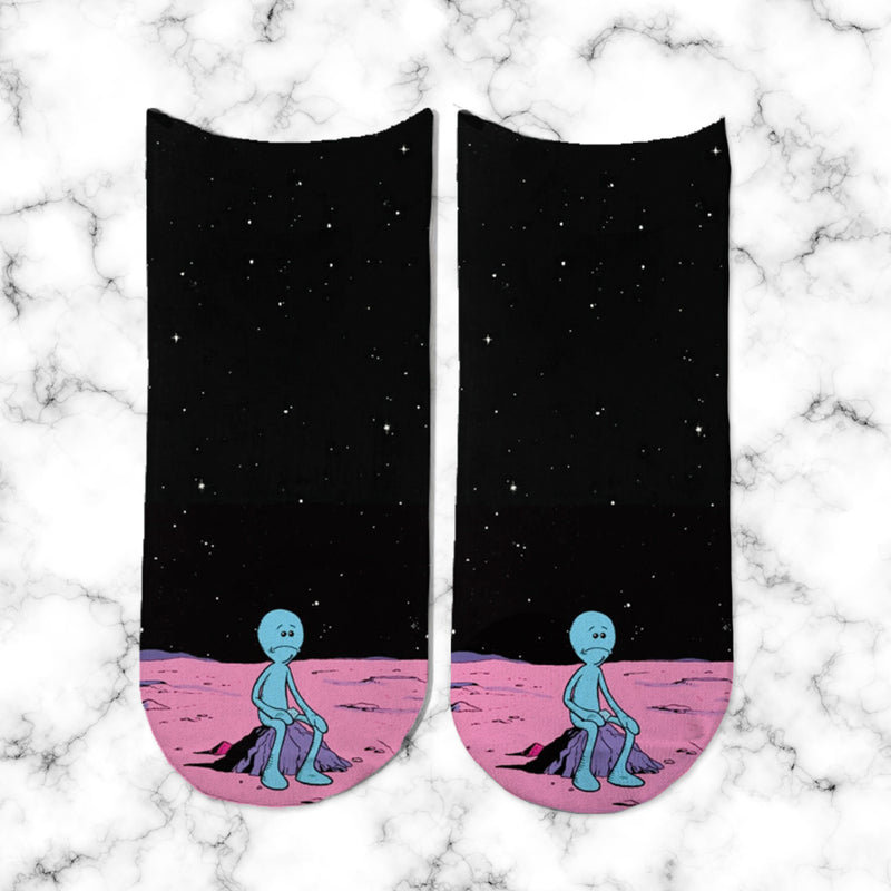 Socks Mr Meeseeks - Space Store Chile