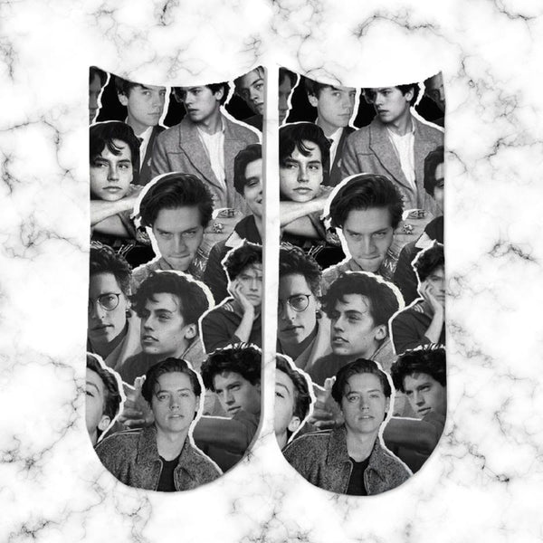 Socks Cole Sprouse Collage