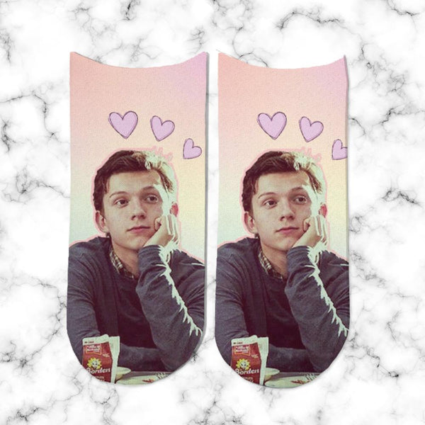 Sock Tom Holland Heart