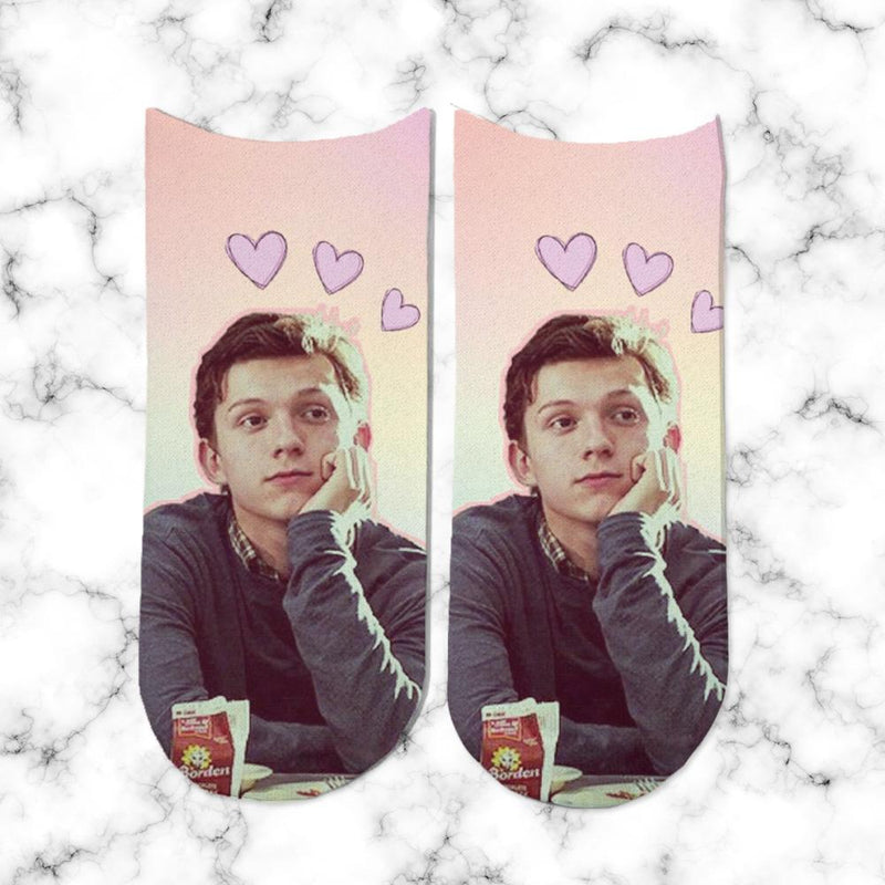 Socks Tom Holland Heart - Space Store Chile