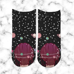 Socks Galaxy Girl - Space Store Chile