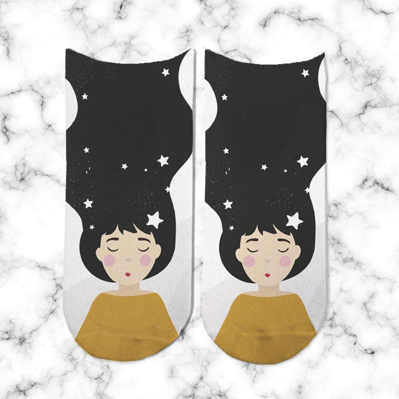Socks Galaxy Girl 2 - Space Store Chile
