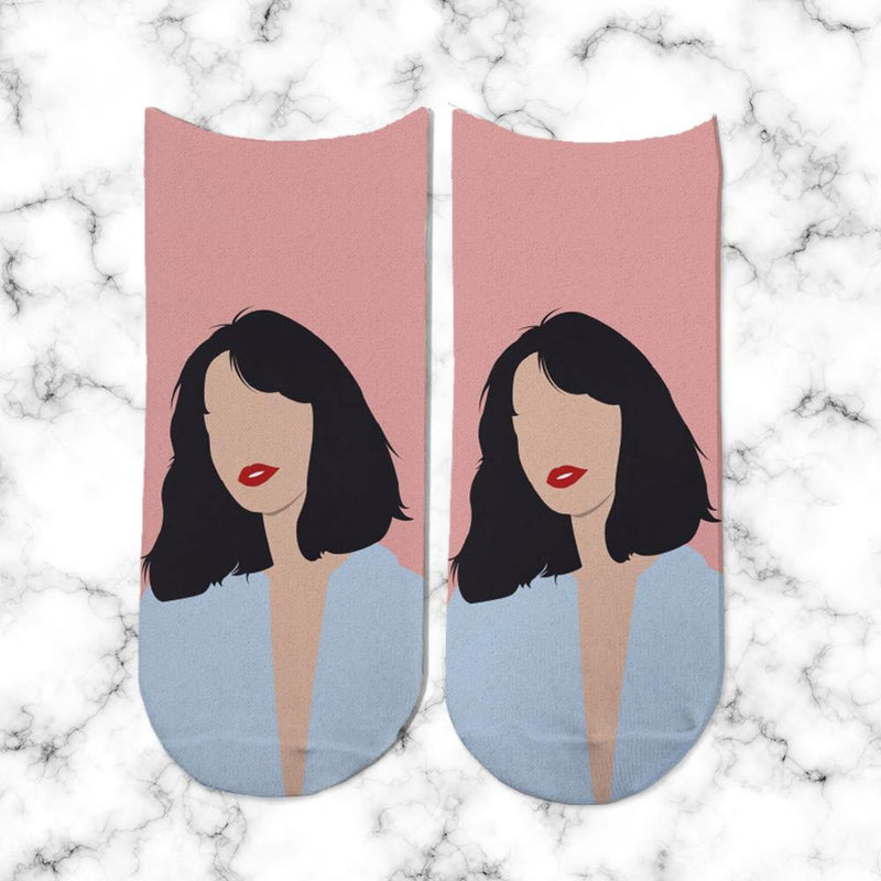 Socks No face Girl - Space Store Chile