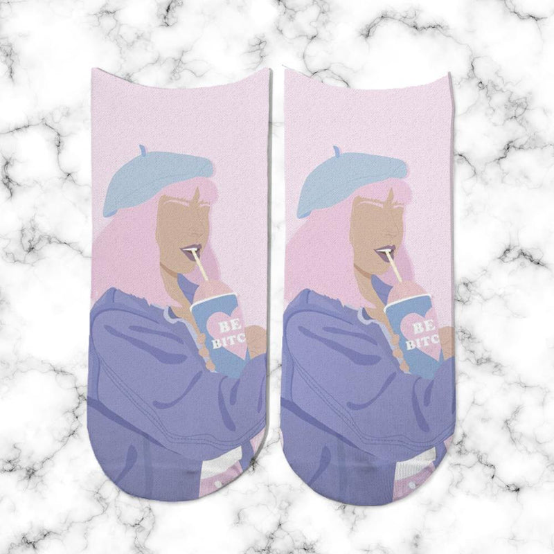 Socks No face Girl 3 - Space Store Chile