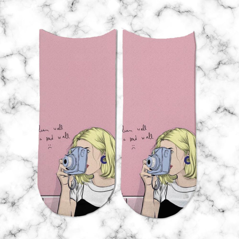 Socks No face Girl 4 - Space Store Chile