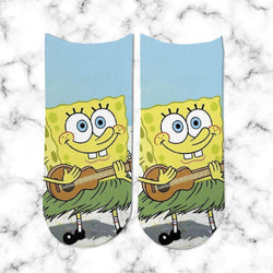 Socks Bob Esponja Ukelele - Space Store Chile