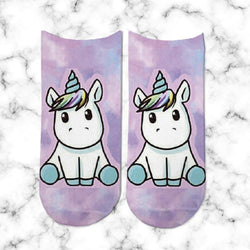 Socks Unicornio Cute - Space Store Chile